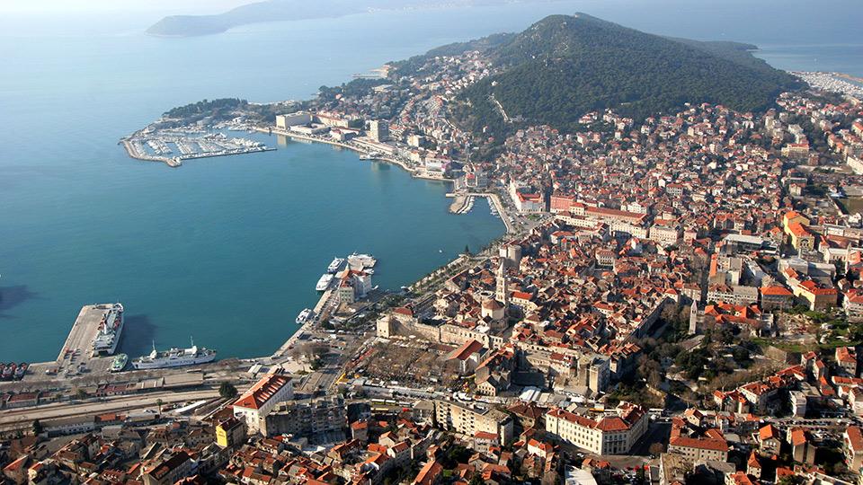 statiunea split croatia