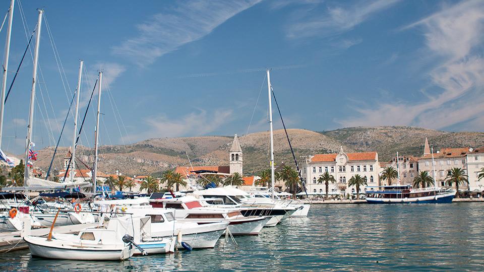 statiunea trogir croatia plaje