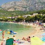 tucepi croatia plaja