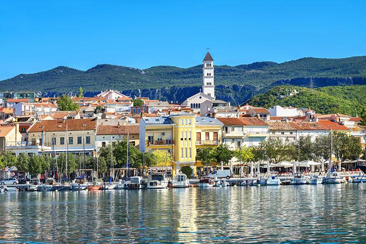 Crikvenica. Istria, Croatia